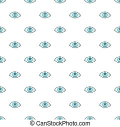 Eye pattern, cartoon style