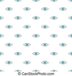 Eye pattern, cartoon style