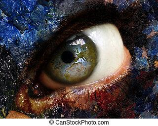 eye       - eye