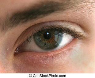 Eye - Teenage boys eye