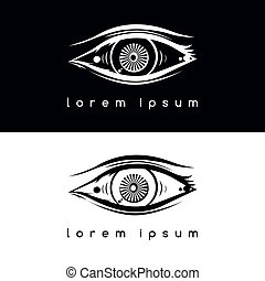 eye vision logotype