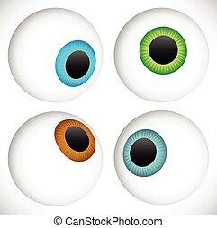 Eyeball - Eye icons