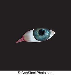 Eyeball watching you