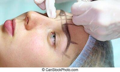 eyebrow Mikrobleyding