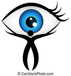 eyecare, ikon