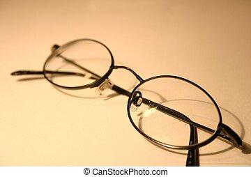 Eyeglasses - black rimmed eyeglasses
