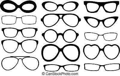 eyeglasses frames set