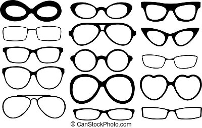eyeglasses frames set