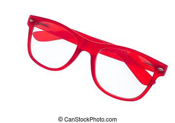 eyeglasses isolated on white background