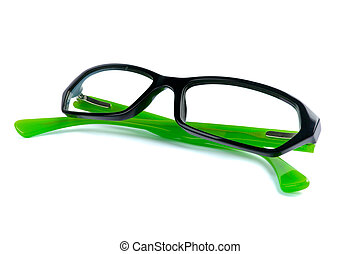 eyeglasses isolated on white background