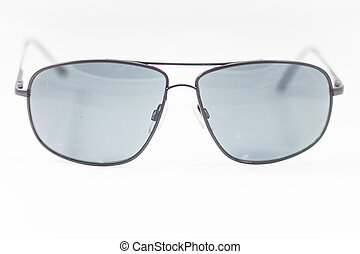 Eyeglasses isolated on white backgr