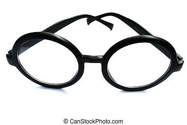 Eyeglasses on Isolated White Background