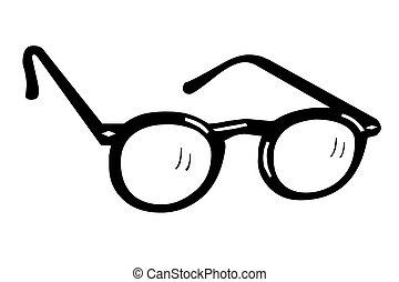 Eyeglasses black