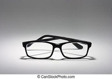 Eyeglasses on Seamless Background