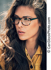 eyeglasses woman