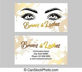Certificate makeup artist, education, makeup school, vector