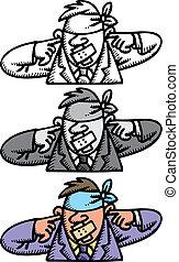 eyeless, earless and tongueless manager - eyeless and ...