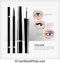 Eyeliner with Types of Eye Makeup