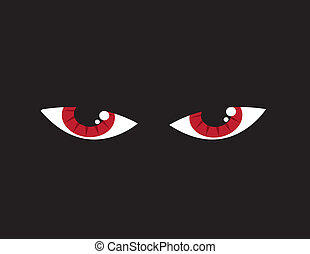 Eyes Angry Red