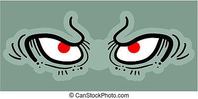 Eyes evil