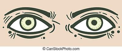 Eyes man
