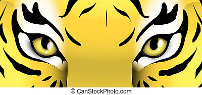 Tiger Eyes Clipart And Stock Illustrations 2140 Tiger Eyes Vector