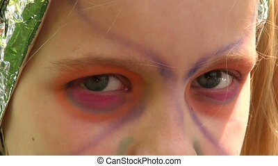 Eyes of the girl
