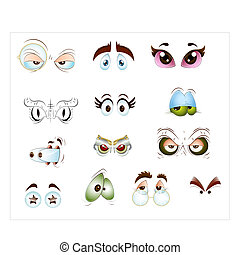 Eyes Vectors - Creative Abstract Conceptual Design Art of...