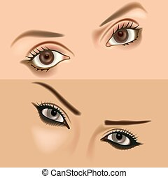 Eyes vol.1 - High detailed illustration.