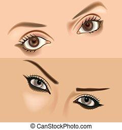 Eyes vol.1 - High detailed illustration.