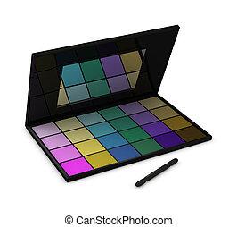 eyeshadow, caja