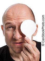 Eyesight exam - Human medicine healthcare men eye eyesight...
