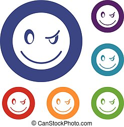 Eyewink emoticons set