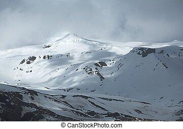 eyjafjallajokull, gorra, islandia, hielo, volcán