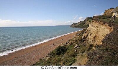 Eype Dorset England uk hang glider - Eype Dorset England uk...