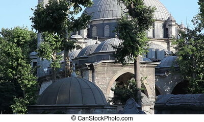 eyup sultan mosque - Eyup Sultan Mosque in istanbul,...