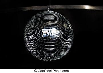 ezüst, disco, tükör labda, 2015