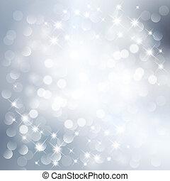 ezüst, fény, háttér