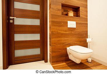 fából való, öltözék, fürdőszoba