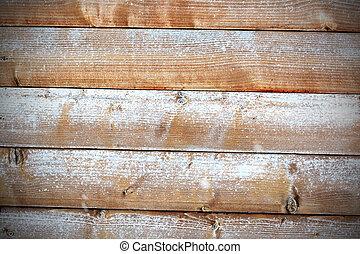 fából való, idős, hó, háttér