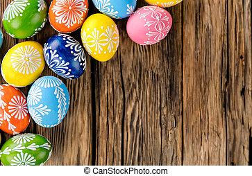 fából való, ikra, húsvét, háttér