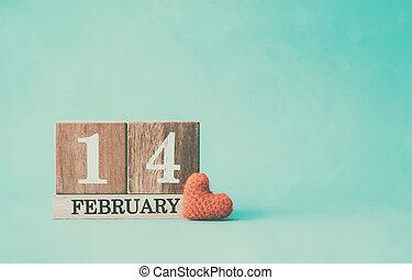 fából való, naptár, előadás, közül, 14 february