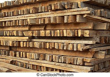 fából való, szerkesztés, kellék