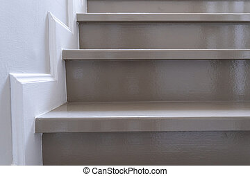 fából való, szoba, lépcsőház