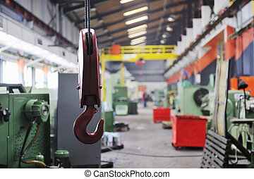 fábrica, interior