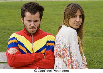 fâché, couple