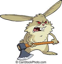 fâché, lapin