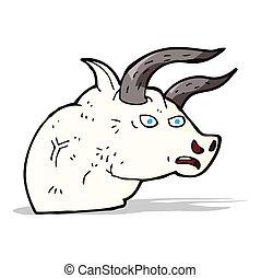 F ch t te taureau clip art vectoriel rechercher des dessins et des images graphiques - Dessin tete taureau ...