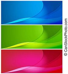 färg, abstrakt, bakgrunder
