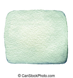 färg, abstrakt, fläck, isolerat,  hand, vattenfärg, bakgrund, bläck, oavgjord, vit, plaska